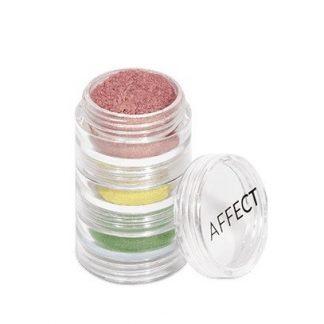 Charmy Pigment Loose Eyeshadows Set / Set de pigmenti pentru ochi usor sclipitor
