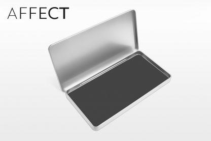 Aluminum Palette Glossy Box / Suport din aluminiu magnetic pentru rezerve farduri machiaj