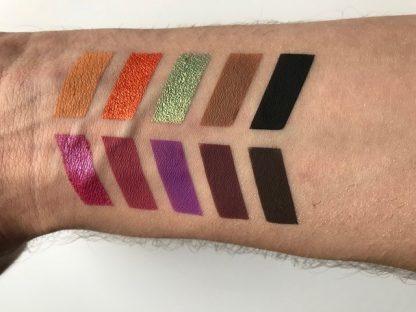 Evening Mood Pressed Eyeshadows Palette / Paleta fard compact pentru ochi (machiaj de seara)