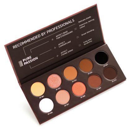 Pure Passion Pressed Eyeshadow Palette/Paleta fard compact pentru ochi – Pure Passion
